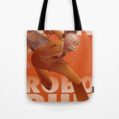 RUN ROBO RUN Tote Bag