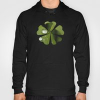 Green Leaves After Rain Hoody