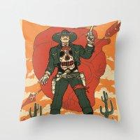 El Castigador Throw Pillow