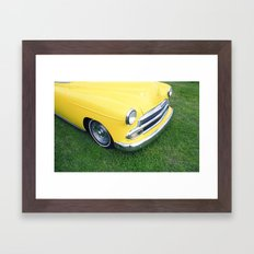Collection series-Yellow Framed Art Print