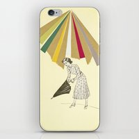 Downpour iPhone & iPod Skin