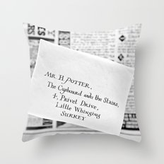 Mail for Harry Potter Throw Pillow