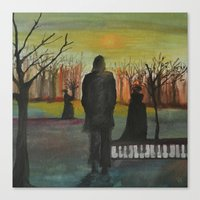 Track 2: The Path Of The… Canvas Print
