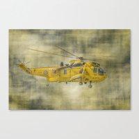 RAF Rescue Canvas Print