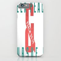 Seek Peace iPhone 6 Slim Case