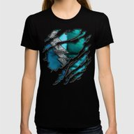 Quick Pietro Maximoff Si… Womens Fitted Tee Black SMALL