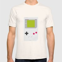#54 Gameboy Mens Fitted Tee Natural SMALL