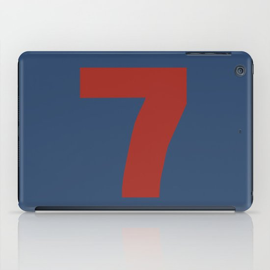 Number 7 iPad Case