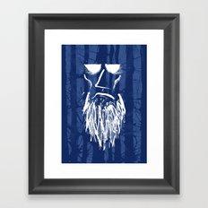 Old Man of the Woods Framed Art Print