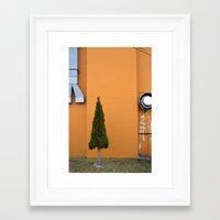 Perfect triangle #2 Framed Art Print