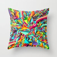 Candy Explosion Throw Pillow