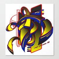 Red_Tornado_HD Canvas Print