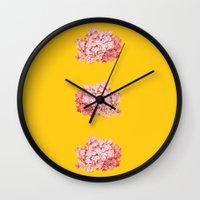 Tridrangea Wall Clock