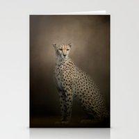 The Elegant Cheetah Stationery Cards