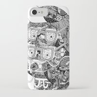 hipster iPhone & iPod Cases featuring hipster by Jess John