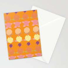 Bright and Bold Floral Dance Stationery Cards
