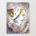 We're All Mad Canvas Print