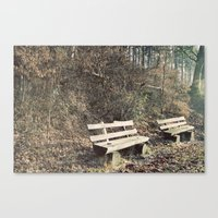Strategically Shaped Log… Canvas Print