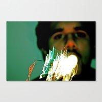 Projectile Lights Canvas Print