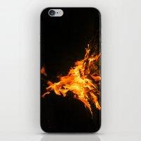 Bonfire (lohri) iPhone & iPod Skin