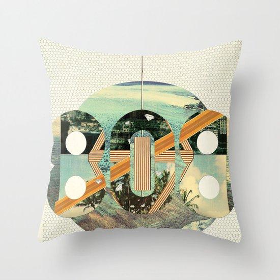 808 State Throw Pillow