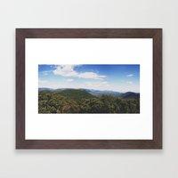 Mt. Tremper Framed Art Print