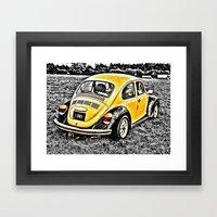 Bumble Beetle Framed Art Print
