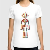 robot T-shirts featuring Robot by LindseyCowley