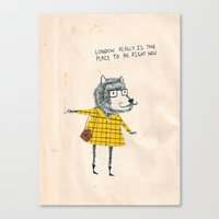 Things My Friends Say Canvas Print