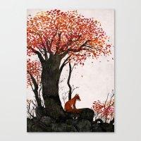 Fantastic Mr. Fox Doesn'… Canvas Print