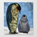 Emperor Penguins Canvas Print