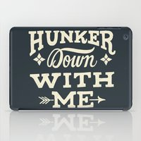 Hunker Down iPad Case