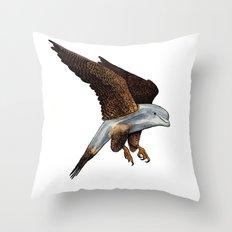 Peregrine Dolphin Throw Pillow