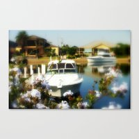 Someone's Back-Yard Canvas Print