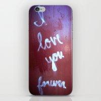 loved iPhone & iPod Skin