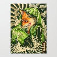 Kitune Canvas Print