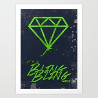 The BlingBling Thing Art Print