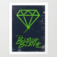 The BlingBling Thing Art Print