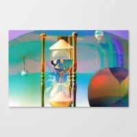 Tétrodlabel Canvas Print