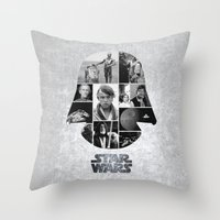 A New Hope COLLAGE Varia… Throw Pillow