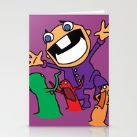 Alien Evasion Stationery Cards