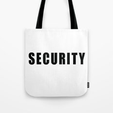 SECURITY TEE SHIRT (inverse edition) Tote Bag
