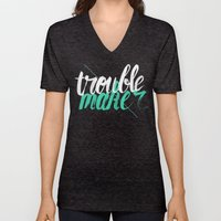 Troublemaker Unisex V-Neck