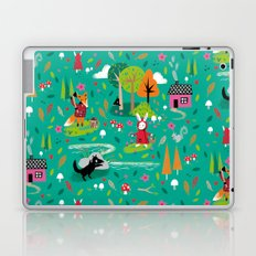 Little Red Riding Rabbit Laptop & iPad Skin