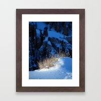 Bryce Canyon Chill Framed Art Print