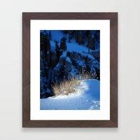 Bryce Canyon Chill Framed Art Print
