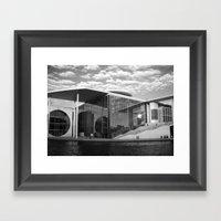 Bundestag In Berlin, Ger… Framed Art Print
