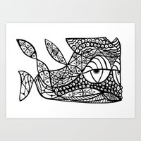 Peixoto Art Print