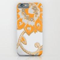Vintage Paisley Orange/g… iPhone 6 Slim Case