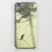 iPhone & iPod Case featuring Raven by Linette No